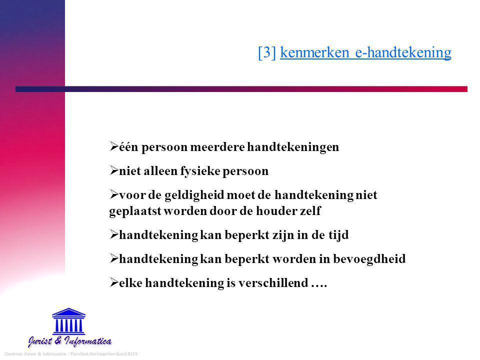 [3] kenmerken e-handtekening